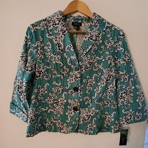 RQT Long Sleeve Blouse NWT - PM